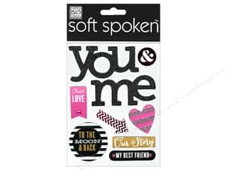 2013 Crafties - Best Adhesive: MAMBI Sticker Soft Spoken True Love You & Me