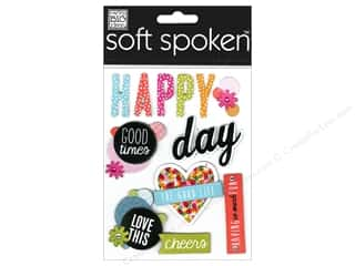 Love & Romance Hot: Me&My Big Ideas Sticker Soft Spoken Happy Days