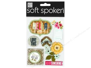 2013 Crafties - Best Adhesive: MAMBI Sticker Soft Spoken Hello Friends Jar