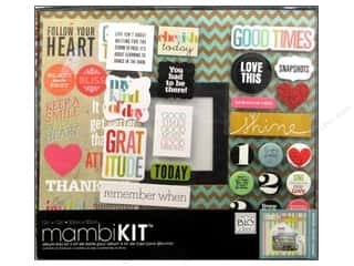 "Scrapbook / Photo Albums Projects & Kits: Me&My Big Ideas Album Kit Box 12""x 12"" Follow Your Heart"