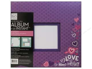 "Valentine's Day Brand-tastic Sale: Me&My Big Ideas Scrapbook Album 12""x 12"" In An Instant Tween"