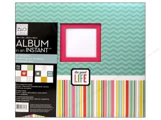 "Stamped Goods Weekly Specials: Me&My Big Ideas Scrapbook Album 12""x 12"" In An Instant Family"