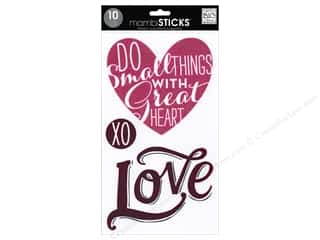Staples Gifts: Me&My Big Ideas Sticker Sticks Big Words Love