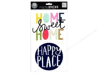 MAMBI Sticker Sticks Big Words Home