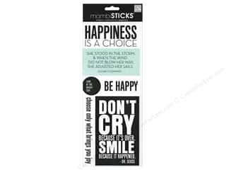 MAMBI Sticker Sticks Happiness Is A Choice