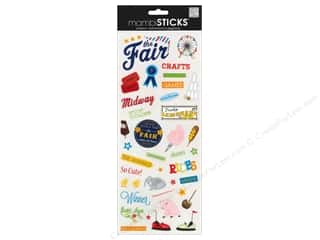 Me & My Big Ideas MAMBI Sticker Chipboard: Me&My Big Ideas Sticker Sticks The Fair