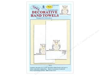 Jack Dempsey Dec Hand Towel Owl 2pc