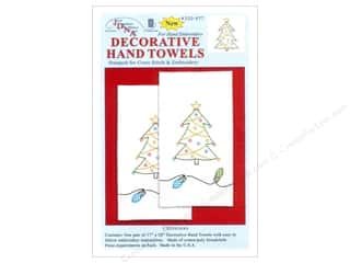 Jack Dempsey Dec Hand Towel Christmas 2pc
