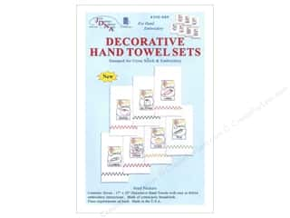 Clearance Jack Dempsey Decorative Hand Towel: Jack Dempsey Decorative Hand Towel Seed Packets 7pc