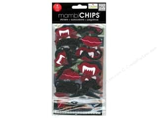MAMBI Sticker Chipboard Chips Ellen Lips Mustache