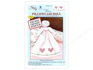 Jack Dempsey Pillowcase Doll Kit Chckn Scratch Hrt