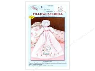 Jack Dempsey Yarn Kits: Jack Dempsey Pillowcase Doll Kit Sunbonnet Sue