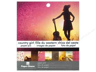 "Sisters Papers: Paper House Paper Pad 6"" Country Girl"