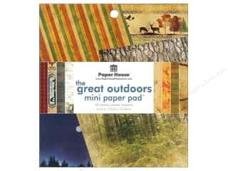 "Outdoors Papers: Paper House Paper Pad 6"" Great Outdoors"