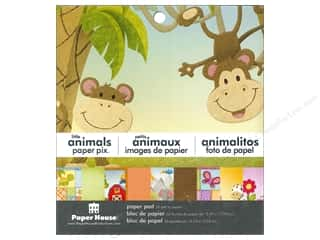 "Animals Clearance: Paper House Paper Pad 6"" Animals"