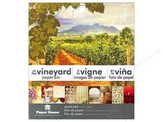 "Paper House $1 - $2: Paper House Paper Pad 6"" At The Vineyard"