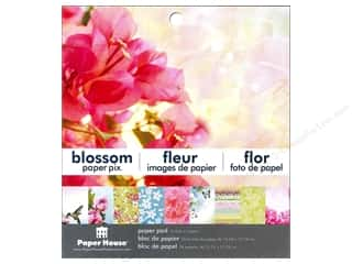 "Paper House Paper Pad 6"" Blossom"