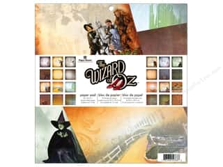 "Paper House: Paper House Paper Pad 12"" Wizard Of Oz"