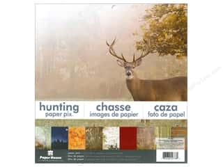 "Paper House All-American Crafts: Paper House Paper Pad 12"" Hunting"