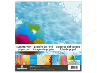 "Scrapbooking & Paper Crafts Summer Fun: Paper House Paper Pad 12"" Summer Fun"