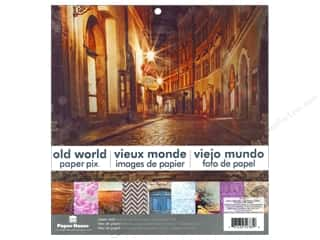 "Paper House: Paper House Paper Pad 12"" Old World"