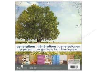 "Generations $4 - $12: Paper House Paper Pad 12"" Generations"