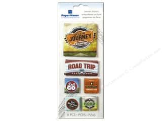 Paper House Sticker Canvas Road Trip
