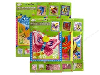Stands Drawing: Multicraft Krafty Kids DIY Picture Board Assorted 6 Styles Critter Fun (36 sets)