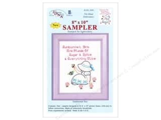 "Captions Yarn & Needlework: Jack Dempsey Sampler 8""x 10"" Sunbonnet Sue"