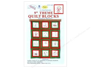 "Jack Dempsey 9"" Theme Quilt Blocks 12pc Ornaments"