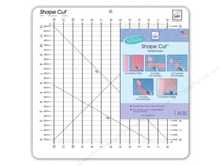 "Rulers June Tailor Rulers: June Tailor Ruler Shape Cut 12""x 12"""