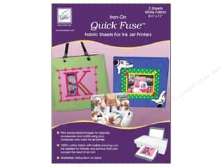 June Tailor Inkjet Fabric Sheet Quick Fuse Wht3pc