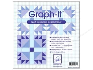 June Tailor Quilting Notions: June Tailor Quilt Designer's Graph-It Graph Paper