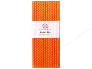 Queen & Company Queen&Co Stylish Stix: Queen&Co Stylish Stix Juicy Stripes Orange Crush 25pc