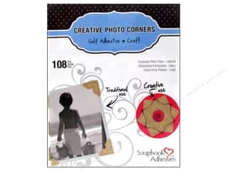 2013 Crafties - Best Adhesive: 3L Scrapbook Adhesives Photo Corners Paper 126 pc. Kraft
