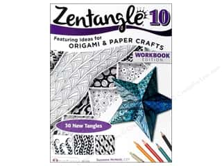 Design Originals Paper Craft Books: Design Originals Zentangle 10 Book