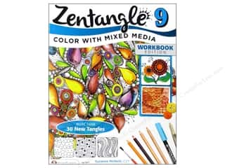 Bazooples Paper Craft Books: Design Originals Zentangle 9 Book