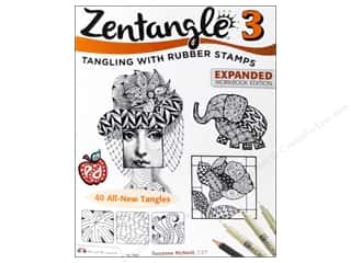 Design Originals Paper Craft Books: Design Originals Zentangle 3 Expanded Edition Book