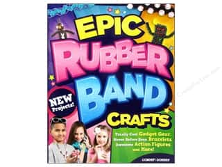 Bands New: Design Originals Epic Rubber Band Crafts Book