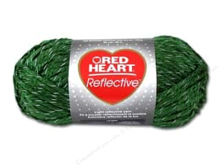 Hearts: Coats & Clark Red Heart Reflective Yarn 3.5oz Olive