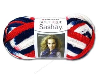 Yarn & Needlework Americana: Red Heart Boutique Sashay 3.5oz Patriotic