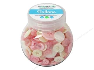 NEW EK Jolees Boutique Embellishments: Buttons Galore Button Jar 5oz Baby Girl