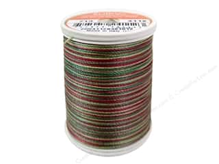 Paints Burgundy: Sulky Blendables Cotton Thread 12 wt. 330 yd. #4112 Vintage Holiday