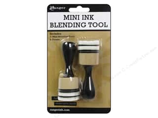 Machine Lint Brushes Family: Ranger Essentials Tool Mini Ink Blending Handle & Foam Round