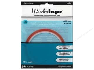 Glues, Adhesives & Tapes $1 - $3: Ranger Essentials Wonder Tape Roll 1/8""