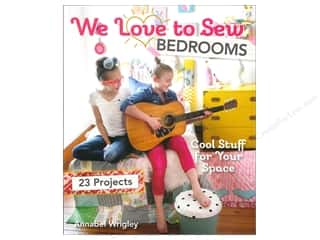Potter Publishing Home Decor: FunStitch Studio By C&T We Love to Sew Bedrooms Book