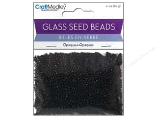 Multicraft Beads Seed 12/0 Opaque Black