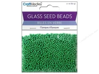 Multicraft Beads Seed 12/0 Opaque Kelly Green