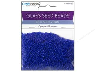 Toys $0 - $2: Multicraft Beads Seed 12/0 Opaque Royal Blue