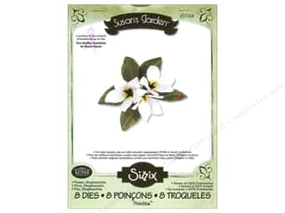 Sizzix Thinlits Die Set 8PK Flower Stephanotis